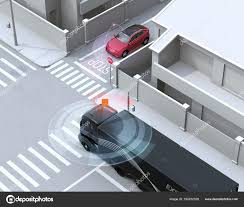 Semi Truck Detected Car One Way Street Blind Spot Connected — Stock ... Vehicle Blind Spot Assistance Stock Image Of Blind Angle Spots How To Check Them While Driving Aceable 2 X 3 Inch Rear View Mirrors Rearview Wide Angle Round Best Truck Curtains Decoration Ideas Drapes Mirror Pcs Black Fanshaped Auxiliary Arc Car Side 360 Adjustable Fits And Insights Wainwright Insight Wise Eye Blind Spot Truck Mirror Back Up Light Trouble Spot Unsafe Practices Saaq Right Position Trucklite 97619 5 Convex
