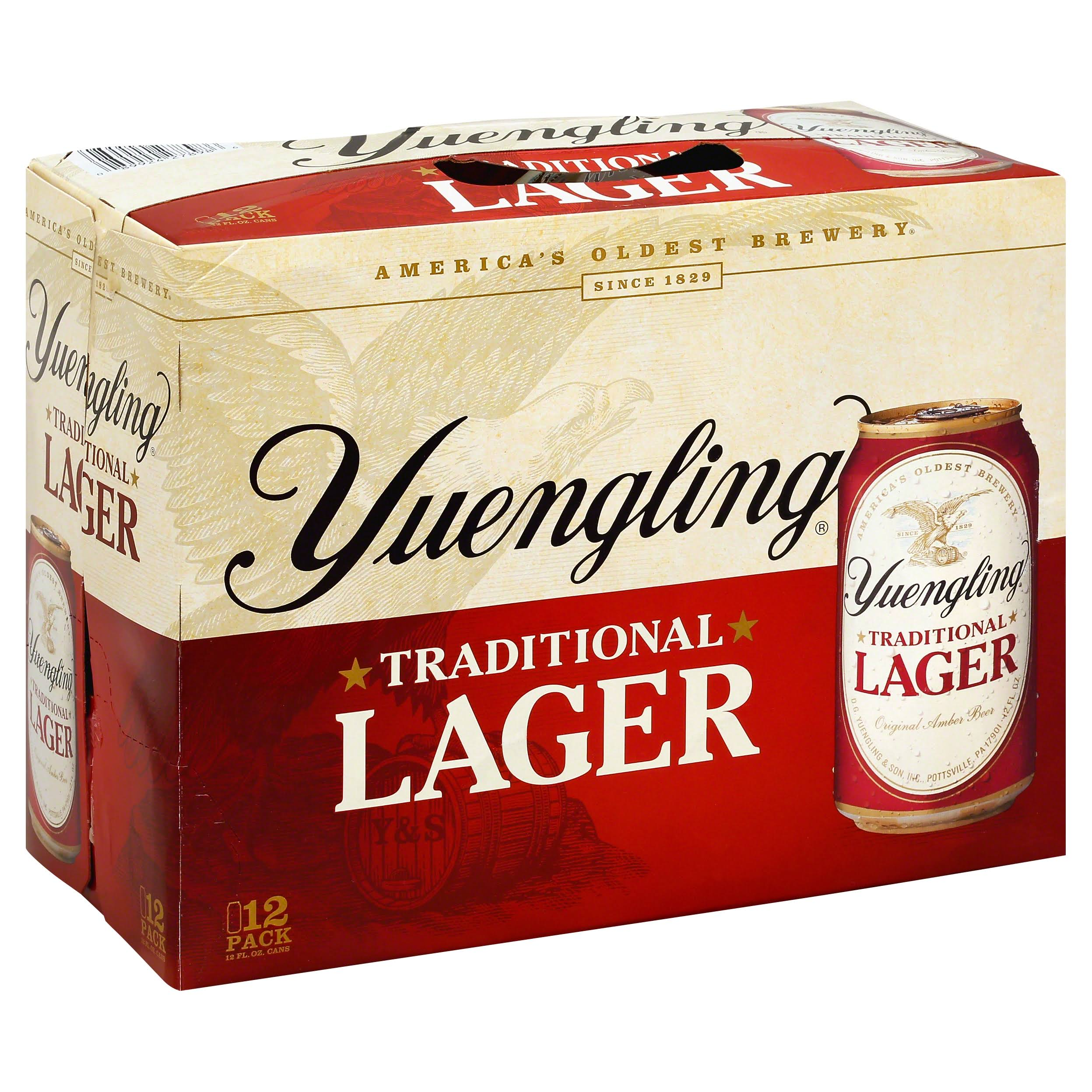 Yuengling Traditional Lager - 12 Cans