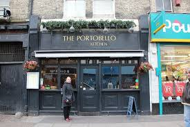 Joe Strummer Mural London Address by The Portobello London Notting Hill Restaurant Reviews