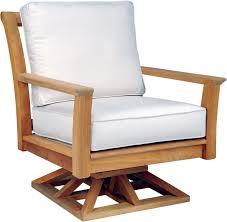 Kingsley Bate Chelsea Swivel Rocker Lounge Chair