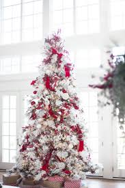Flocked Real Christmas Trees by 612 Best Holiday Trees Images On Pinterest Merry Christmas