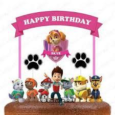 paw patrol marshal cake topper paw patrol marshal birthday