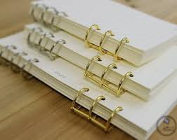 Decorative Small 3 Ring Binders by 6 Ring Binder Etsy
