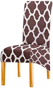 elastischer xl stuhlhussen für esszimmerstühle geometrische streifen stretch abnehmbare waschbar esszimmerstuhl schützen schonbezug für küche bar