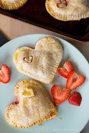 perfect mini strawberry pies for my valentine