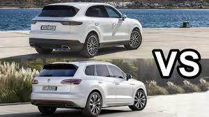 2019 Volkswagen Touareg Vs 2018 Porsche Cayenne - Excellent SUVs ...