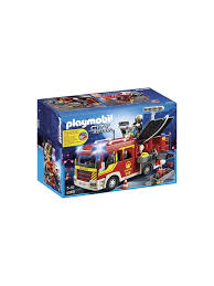 100 Playmobil Fire Truck City Action Engine With Lights And Sound At John