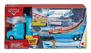 Disney Cars Drop And Jump Gray Transporter Playset: Amazon.co.uk ... Shop Disney Cars Rc Turbo Mack Truck And Lightning Mcqueen The Tractor Trailer From Disneys Hd Desktop Wallpaper Transporter Playset Story Sets Ebay Cars With In Ellon Aberdeenshire Gumtree 3 Diecast 155 Scale Oversized Deluxe 2018 Lmq Licenses Brands Mack Truck Disney From Movie And Game Friend Of Pixar Shop Movie