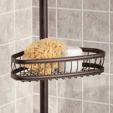 Floor To Ceiling Tension Rod Shelves by Amazon Com Interdesign York Constant Tension Shower Caddy