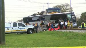 Biloxi Train-bus Crash Site: Vehicles Trapped Before - CNN Four Killed As Truck Hits Bus On Lagosibadan Expressway Premium Pepsi Crashes Into Fort Bend County Creek Abc13com Update One Dead After Tractor Trailer House In Carroll Truck Crash Chicago Best 2018 Woman Dies Crash Between Car I95 Cumberland Part Of Nb I69 Eaton Co Reopens 1 Critical Cdition Hwy 401 Near Dufferin The Poultry Reported Rockingham Cleveland His Got Stuck Then He Saw A Train Coming Sun Herald Louisa Man Gop Crozet