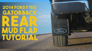 Gatorback Universal Mudflap Installation - 2014 F-150 (Rear) - YouTube Front Rear Molded Splash Guards Mud Flaps For Ford F150 2015 2017 Husky Liners Kiback Lifted Trucks 2000 Excursion Lost Photo Image Gallery 72019 F350 Gatorback Flap Set Vehicle Accsories Motune Rally Armor Blue Focus St Rs Rockstar Hitch Mounted Best Fit Truck Buy 042014 Flare Rear 21x24 Ford Logo Dually New Free Shipping 52017 Flares 4 Piece Guard For Ranger T6 Px Mk1 Mk2 2011 Duraflap Fits 4door 4wd Ute