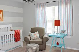 modern nuance of the nursery blue walls that can be