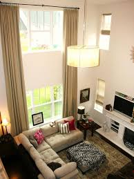 Curtain Ideas For Living Room by Best 25 Large Curtains Ideas On Pinterest Small Window