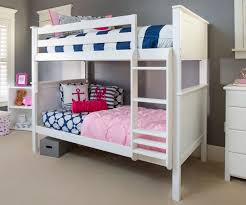 Twin Over Twin Bunk Beds With Trundle by Jackpot White Finish Twin Over Twin Bunk Bed Jackpot Kids