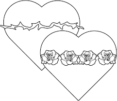 And Immaculate Hearts Coloring Page
