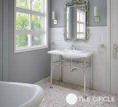 Carrara Marble Tile Floor by Tile Trends Tile Circle