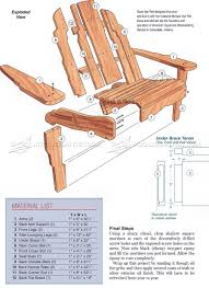 2919 Build Adirondack Chair - Outdoor Furniture Plans ...