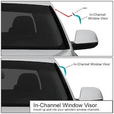 For 94-02 Dodge Ram Regular Cab In-Channel Window Vent Visor ... Endearing Window Vent Visors Trucks For Modern Putco Element Chrome Sharptruckcom Egr Smline Inchannel Fast Shipping Firstgen Tacoma World How To Install Avs On A Gmc Sierra Youtube Tinted Chevy Colorado Canyon In Ikonmotsports 0608 3series E90 Pp Front Splitter Oe Painted Channel Page 2 Tapeon Mack Visor Rear Door Trims Exterior