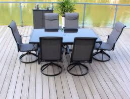 7 Piece Patio Dining Set by Pebble Lane Living 7 Piece Patio Dining Set With Cast Aluminum