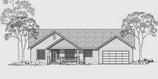 3 Bedroom Ranch Floor Plans Colors Single Level House Plans Ranch House Plans 3 Bedroom House Plan