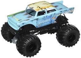 100 Blue Monster Truck Amazoncom Hot Wheels 2018 Jam 124 Avenger Junkyard