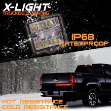 8pc Waterproof Pickup Truck Bed Light Kit LED Lighting Accessories ... 60 Trailer Turn Signal Truck Reversing Brake Running Drl Tailgate Bed Tool Box Light Kit With Autooff Delay Switch 4pc 12inch 201518 Ingrated F150 Cargo Area Premium Led Lights F150ledscom Led Lights For Of Decor 8 Blue Rock Pods Lighting Xprite Multi Color 4 To 6 Boogey Amazoncom Mictuning 2pcs White Strip Magnetic Under The Rail Lux Systems 92 5 Function Trucksuv Bar Reverse Strips Trucks