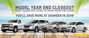New Chevy Dealer In Lansing | Used Car Dealer Lansing | Shaheen ...