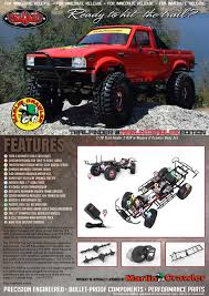 100 Rc 4wd Truck RC4WD RC4ZRTR0034 MARLIN CRAWLERS TRAIL FINDER 2 RTR WMOJAVE II