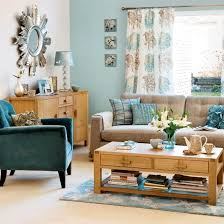 living room with brown sofa duck egg blue duck egg