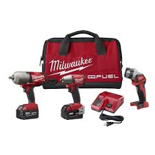 Milwaukee 2796 23 M18 FUEL Cordless Lithium Ion 3 Tool Walmart