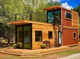 104 Building House Out Of Shipping Containers Stacked Two Story Container Home Has Roof Terrace
