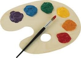 Palette Watercolor Painting
