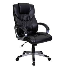 FDS High Back Leather Executive Swivel Computer Desk Armchair ... Office Chairs Ikea Fniture Comfortable And Stylish Addition For Your Home Best Chair For 2017 The Ultimate Guide Dorado Costco Popular Armchair Leatherbuy Cheap Leather Craigslist Goodfniturenet Desk Arm Study Club Arm How To Buy A Top 10 Boss Modern White Ergonomic Staples Stool Target