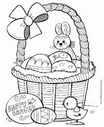Coloring For Kids Printable Pages Easter About