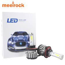 cheapest meetrock car headlight h7 led h8 h9 h11 hb3 9005 hb4 9006