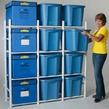 Top Plastic Storage Bin Rack P71 About Remodel Nice Home