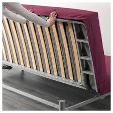 Beddinge Sofa Bed Slipcover Knisa Cerise by Beddinge Lövås Three Seat Sofa Bed Knisa Cerise Ikea