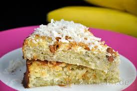 gesunder kokos bananenkuchen zucker und glutenfrei