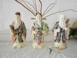 100 Sau 4 Lucky Chinese Three Stars Gods Fuk Luk