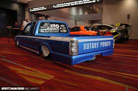 Rotary Minitruckin' At SEMA - Anything Cars - The Car Enthusiasts 1975 Mazda Repu Rotary Pickup Mileti Industries Father Of The Kenichi Yamoto Dies Iroad Tracki Staff Pickup Thats Right Rotary Truck With A Wankel Wallpaper 1024x768 917 Street Parked Repu Startinggrid 1977 Engine Trend History Photo Morries Heritage Road Trip Seattle To 13b Turbo Truck Youtube 1974 Rotaryengine Usa The Was T Flickr Rx8 Chevy S10 Truckeh Shitty_car_mods
