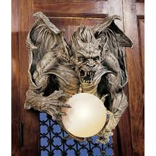 100 Gary Chang Details About Medieval Gargoyle Of Eastmore Cathedral 17 Wall Sculpture Lamp By