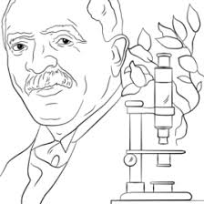 George Washington Carver Coloring Page Free Printable Pages