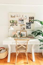 Crate And Barrel Sterling Desk Lamp by A Pretty And Festive Holiday Home Tour Full Of Affordable Pieces