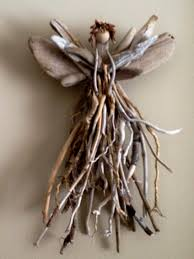 Driftwood Christmas Trees Cornwall by Lake Superior Driftwood Angel One Of A Kind Made From Stick And