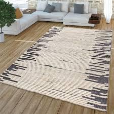 wohnzimmer teppich modernes cut out design