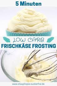 low carb frischkäse frosting
