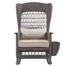 Paula Deen Home Dogwood Rocking Chair With Cushions | Wayfair Woven Rope Midcentury Modern Rocking Chair And Ottoman At 1stdibs Polywood Presidential Rocker With Seat Back Classic Outdoor Wicker Off The A Brief History Of One Americas Favorite Chairs Cracker Barrel Spring Haven Brown Allweather Patio Polywood Jefferson Recycled Plastic Cushions Accsories White Veranda Balcony Deck Porch Pool Beach Allen Roth Belsay Dark Steel Tortuga Portside Wickercom Solid Wood Fntiure