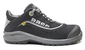 Womens Work And Safety Shoes by Base London Bo886 Style S1p Esd Unisex Classic Plus Nonslip Safety