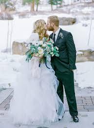 Winter Wedding In Estes Park Colorado