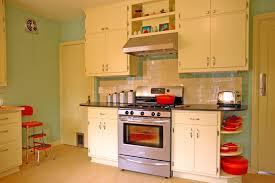 Kitchen 1950s Decor 50s Retro Style Aesthetic Refrigerator Yellow Right Hand Hinge